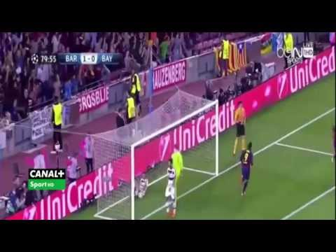 Messi's Incredible Goal Against Fc Bayern (Arabic Commentary)