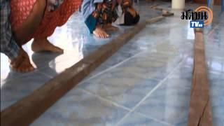 พระ เณร ตะลึง รอยพญานาค ขณะสวดมนต์เช้า ชาวบ้านแห่จุดธูปขอพร มติชนออนไลน์
