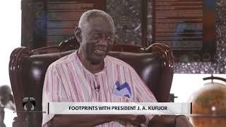 Footprints With Former President Of Ghana John Agyekum Kufuor