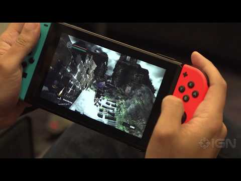 25 Minutes of Dark Souls Remastered in Handheld Mode on the Nintendo Switch – PAX East 2018