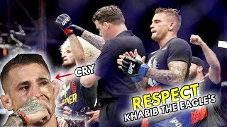 Heartwarming! this is what Khabib said after his fight with Dustin Poirier