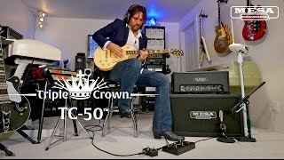 Mesa Boogie Triple Crown TC-50 1x12 Combo Video