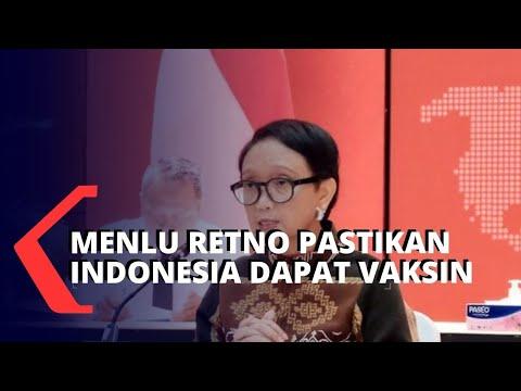 menlu retno pastikan indonesia dapat vaksin covid-