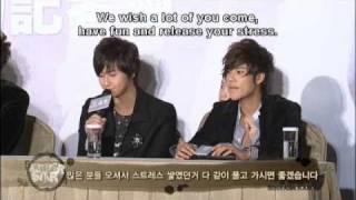SS501 Making of Persona in Taipei (2/6) [Eng Sub]