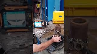 Έλεγχος Σωλήνα με τεχνική PAUT και Crawler LPS02 SIUI