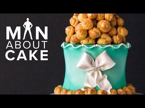 Croquembouche Tower WEDDING CAKE   Man About Cake 2018 Wedding Season with Joshua John Russell
