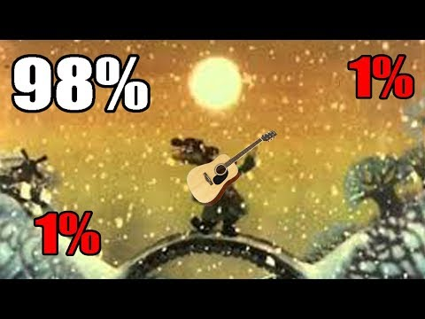 Падал прошлогодний снег - 1% guitar 1% edit 98% programming skills