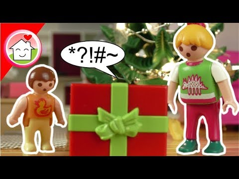 Playmobil Film deutsch - Ein seltsames Geschenk - Familie Hauser Spielzeug Kinderfilm
