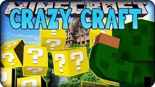 Minecraft Mods - CRAZY CRAFT - Ep # 37 DINOSAUR HUNT