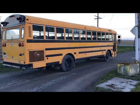 1990 Thomas School Bus   Musser Bros  Inc
