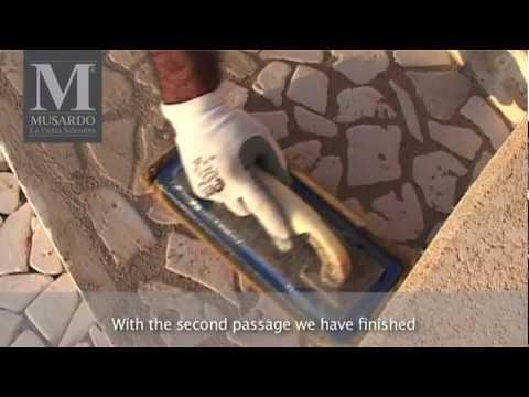 Musardo - Istruzioni per la posa in opera della pietra Salentina