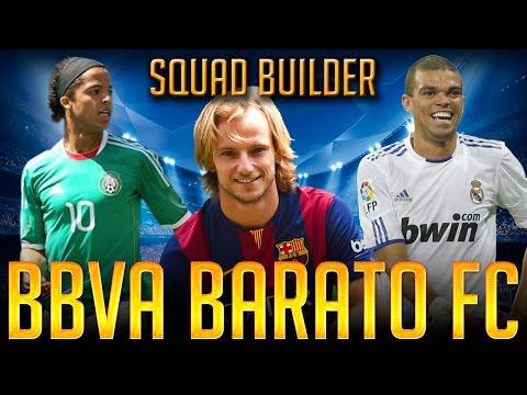 FIFA 15 - BBVA BARATO FC - SQUAD BUILDER