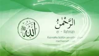 Esma'ül Hüsna - (Allah`ın (c.c) En Güzel İsimleri) Ve Anlamı-1 - Mustafa Özcan Güneşdoğdu
