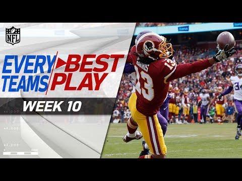 Every Team's Best Play of Week 10 💯 | NFL Highlights