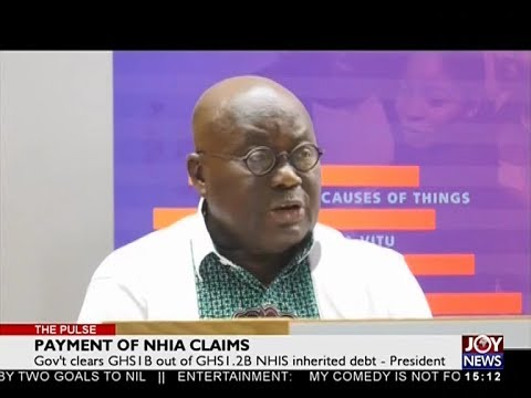 Payment of NHIA Claims - The Pulse on Joy News (23-4-18)
