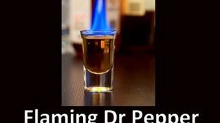 Flaming Dr Pepper Shot Drink Recipe