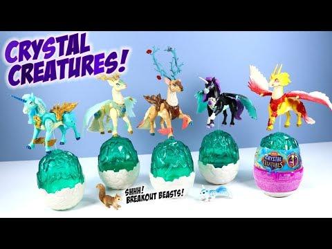 Crystal Creatures MEGA CONSTRUX Series 1 Toys Breakout Beasts
