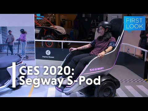 Riding Segway's S-Pod Feels Like Zooming Into The Future