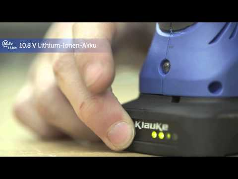 Electromechanical crimping tool - Klauke micro EK50ML - how to