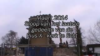 H. Pius X kerk Echt