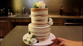 How To Make A Tiered Cake   CHELSWEETS