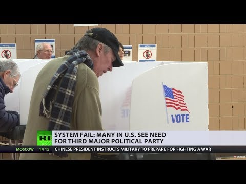 GOP, DNC &...: Many in US see the need for 3rd political party