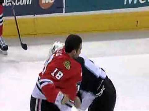 Zack Stortini vs. Brandon Bollig