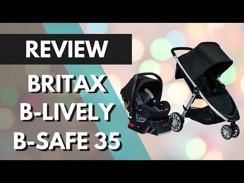 [Review & Demo] Britax B-Lively Stroller & B-Safe 35 Infant Car Seat Travel System