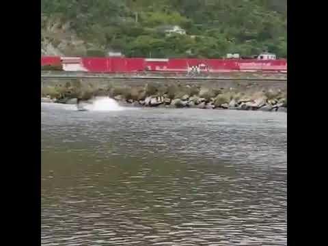 Rogerinho sofre acidente com Barco na Represa