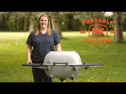 Portable Kitchen PK360 Cast Aluminum Charcoal Grill Review