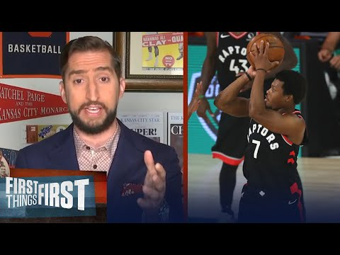 Nick Wright reacts to Raptors double-OT win over Celtics to force a GM 7 | NBA | FIRST THINGS FIRST