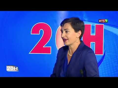 Fête de l'Europe : Mme Irène Mingasson, Ambassadrice de l'UE au Sénégal, JT 20h RTS1 du 7 mai 2019