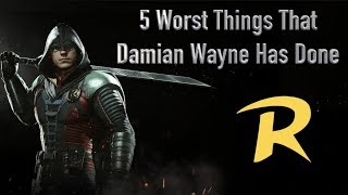 5 Worst Things That Damian Wayne Has Done