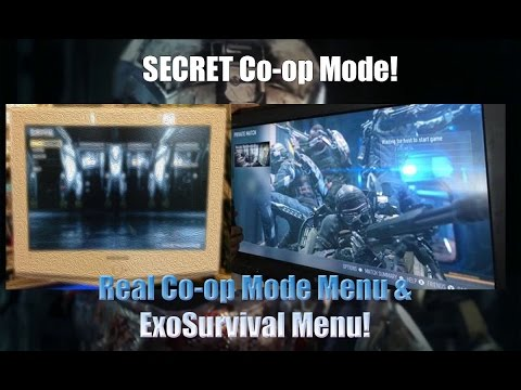 Call of Duty: Advanced Warfare - Secret Co-op Mode - Real Menu & ExoSurvival Menu!!