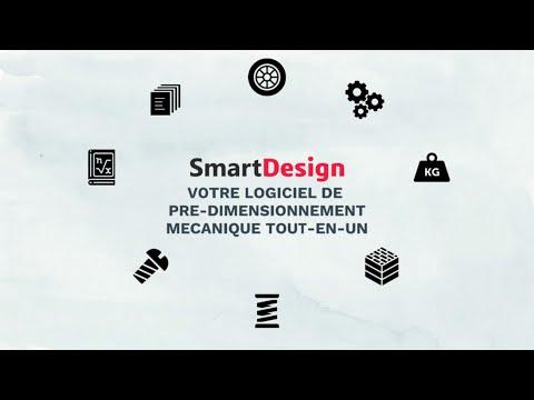 SmartDesign – Logiciel de pré-dimensionnement mécanique