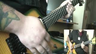 Damageplan - Moment of Truth guitar cover - by Kenny Giron (kG)