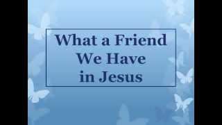 What a Friend We Have in Jesus w/ lyrics By Alan Jackson