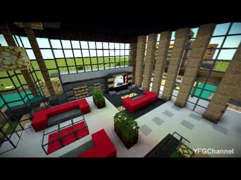 Luxurious Modern House *The Classic Modern Housing In Minecraft*