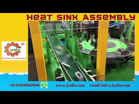 Heat Sink Assembly Machine