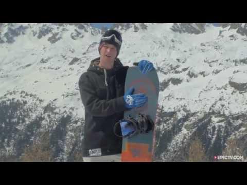 Arbor Draft Snowboard On Snow Review 2015/2016 | EpicTV Gear Geek