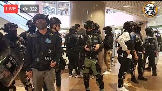 [12.31] Riot Police Ruining New Year - English Live #hongkong #protests #news