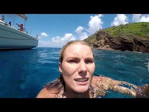 Sailing, free diving, cliff jumping & shipwrecks - tropical island shenanigans