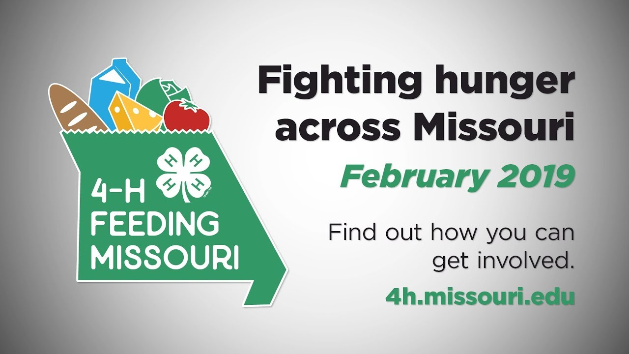 4-H Feeding Missouri results.