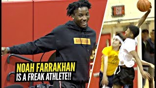 """DON""""T JUMP w/ Noah Farrakhan! You WILL GET Dunked On! The BEST PG In New Jersey!?"""
