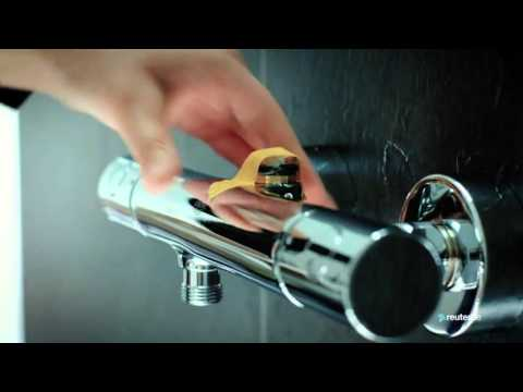"Montage Duschsystem Grohe ""Rainshower 310 Power & Soul"""