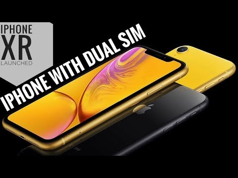 Apple iPhone XR DUAL SIM Launch in 4 Minutes!