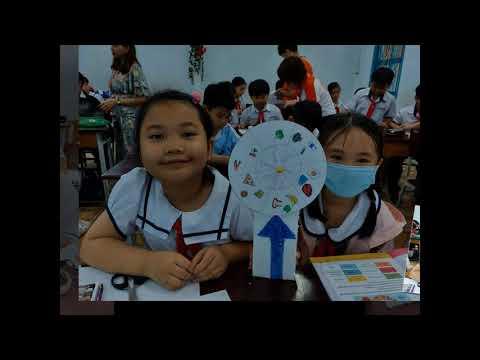 Chuổi sự kiện tuần lễ Khoa học (ISMART) Lớp 4a2