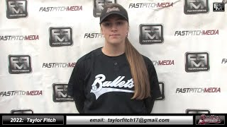 2022 Avery Brown - 4.0 GPA - Outfield Softball Skills Video - Norcal Choppers