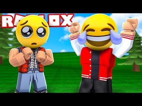 VIDA DE EMOJI POR 1 DIA NO ROBLOX ! (Emoji Simulator)