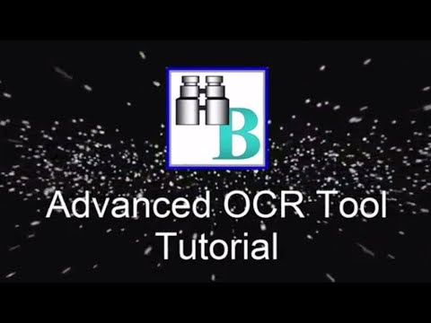 Advanced OCR Tool Tutorial
